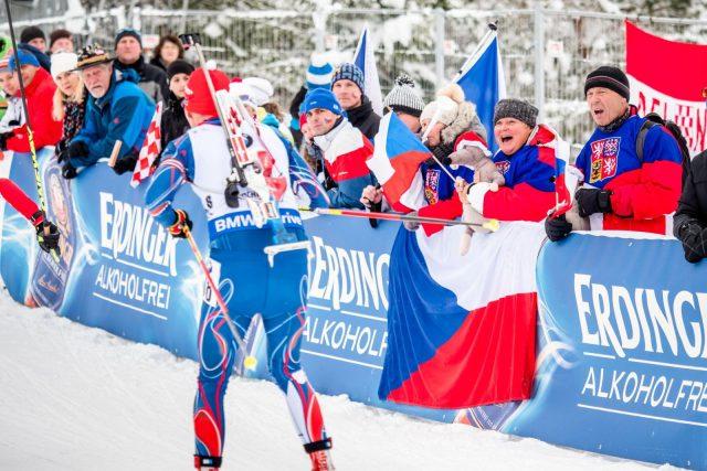 Čeští biatlonoví fanoušci (ilustrační foto)