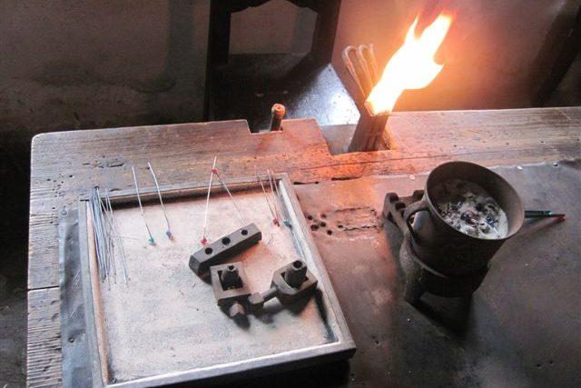 Výroba vinutých perel