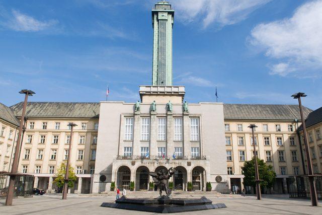 Radnice města Ostravy na Prokešově náměstí