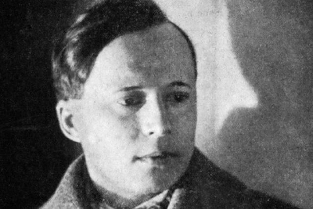 Konstantin Biebl v roce 1928