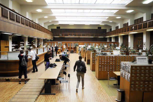 Národní knihovna v Praze, Klementinum.