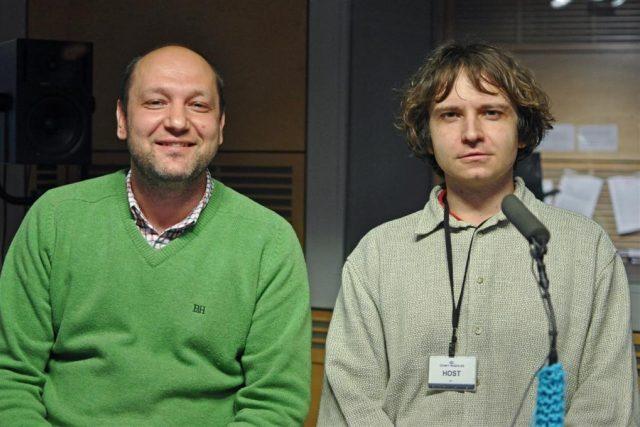 Jaroslav Tvrdoň a Petr Januš,  nakladatelství Rubato | foto: Tomáš Vodňanský,  Český rozhlas