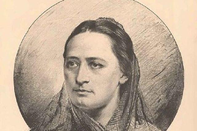 Jan Vilímek: Portrét Boženy Němcové | foto: Wikipedia,  public domain - volné dílo