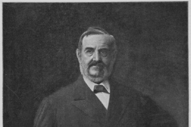 Václav Brožík: Portrét Františka Ladislava Riegera