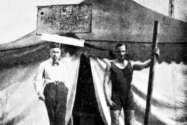 Vysílací stan Radiojournalu, Kbely, rok 1923
