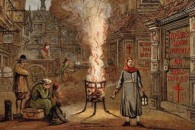 Velký londýnský mor,  1665–1966   foto: Profimedia