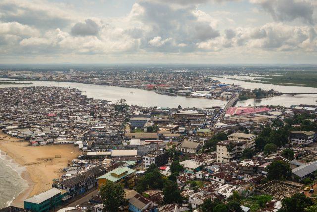Slumy v Monrovii, Libérie