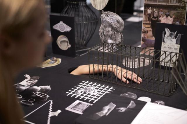 Z londýnské výstavy ve Wellcome Collection Evy Koťátkové s názvem Bedlam: the asylum and beyond
