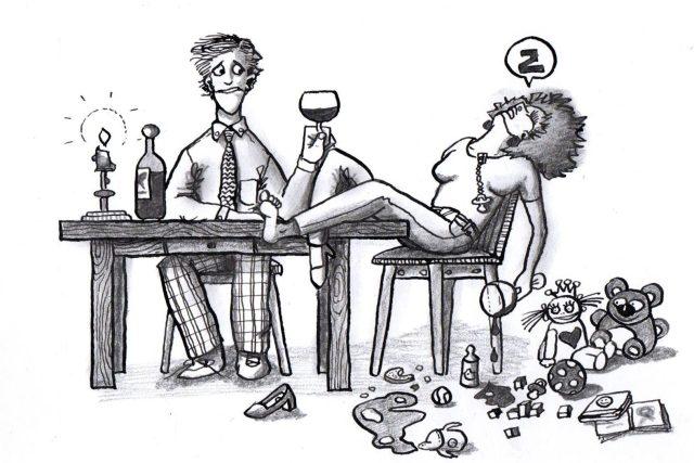 Ilustrace z knihy Odvrácená strana matky