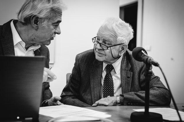Karel Špelina,  dlouholetý violista České filharmonie a souboru Ars rediviva a pedagog AMU   foto: Vojtěch Havlík