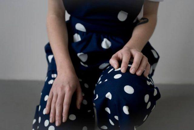 modrotisk z kolekce Dědictví Alice Klouzkové | foto: Karin Zadrick,  tiskový servis Alice Klouzkové