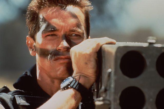 Arnold Schwarzenegger ve filmu Komando