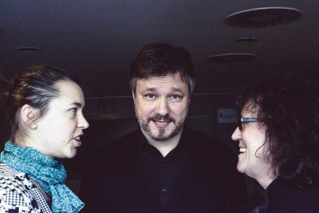 Tereza Semotamová, Petr Onufer, Kateřina Vinšová v Mozaice