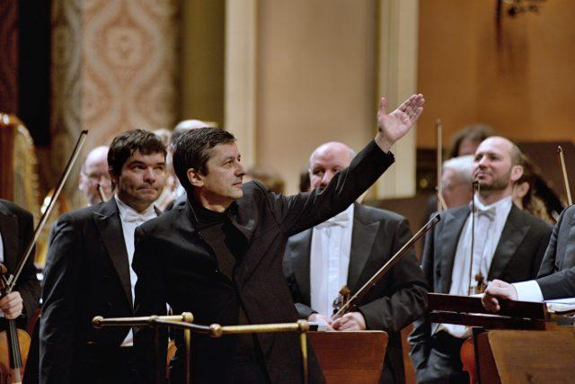 Skladatel Pavel Zemek Novák,  premiéra symfonie Chvála stvoření,  6. února,  Rudolfinum | foto: Tomáš Vodňanský,  Český rozhlas