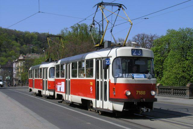 Legendární tramvaj T3 ze 60. let