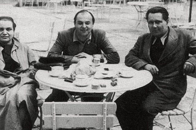 Toyen, Jindřich Heisler, Karel Teige (1940)