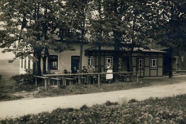 Müllerův hostinec Na krásné vyhlídce, kde byl Paulus před svou smrtí
