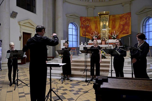 Hlasy v katedrále,  festival Ostravské dny,  24. srpna 2021   foto: Martin Popelář,  Ostravské dny