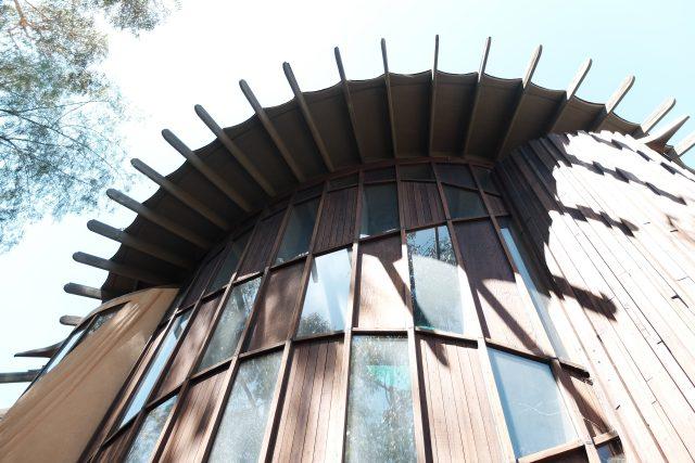 Dům Al Struckus architekta Bruce Goffa v Kalifornii, USA