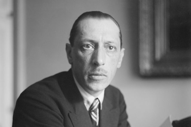 Igor Stravinský cca kolem roku 1920   foto: Profimedia