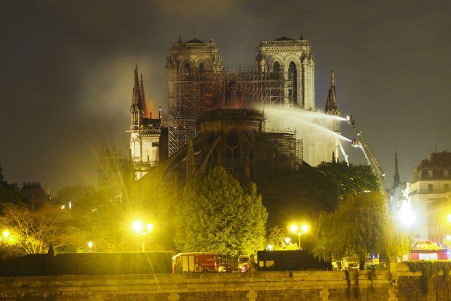 Zkáza katedrály Notre-Dame
