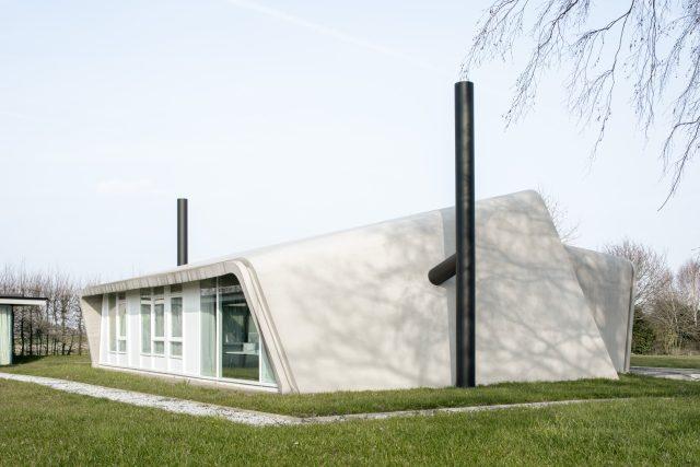 Dům Roelants, kde právě probíhá výstava MOS Architects bruselské galerie Maniera