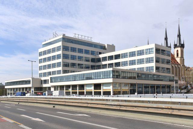 Budova Elektrických podniků po rekonstrukci   foto: Tomáš Vodňanský,  Český rozhlas