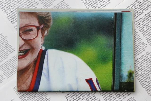 Autorská kniha Markéty Kinterové Kam oči,  tam hlava   foto: archiv Markéty Kinterové
