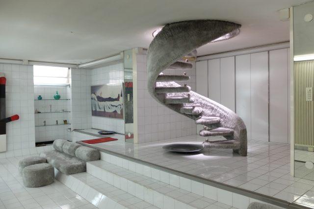 Interiér designerky Nandy Vigo, dům Lo Scarabeo Sotto La Foglia