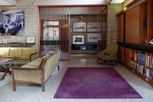 Vlastní dům architekta Ernesta Fookse v Melbourne, Austrálie