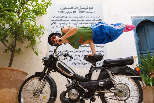 Straight On Bike, Groupe Acrobatique de Tanger