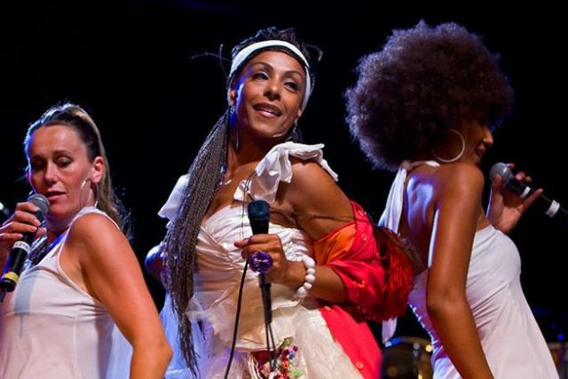 Zap Mama performs at Bumbershoot 2007 in Seattle on September 3, 2007.