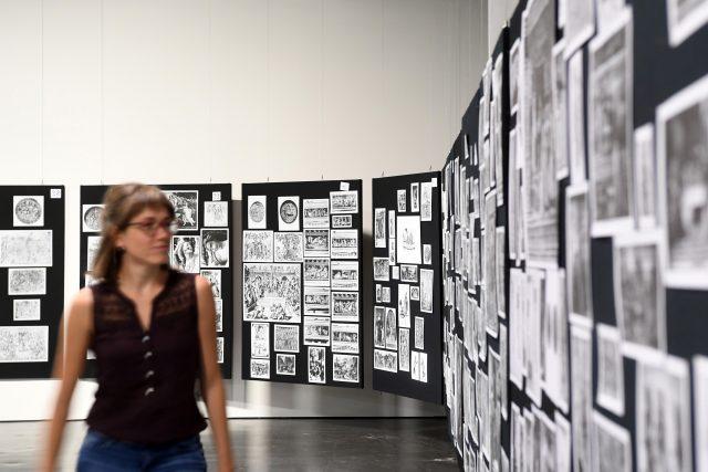 Výstava Aby Warburg: Bilderatlas Mnemosyne