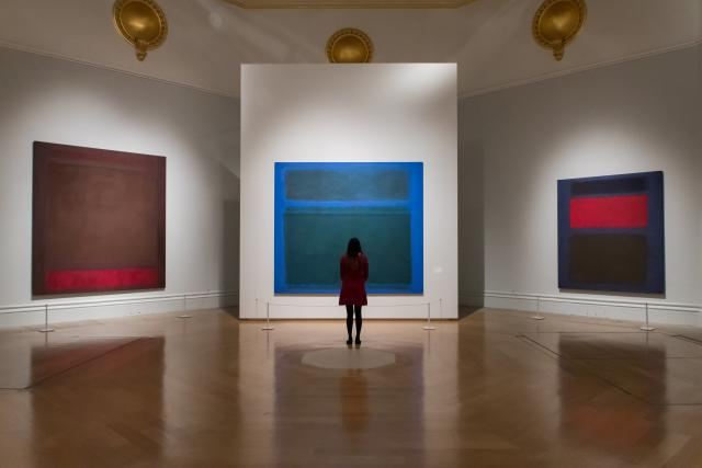 Royal Academy of Arts press view for Abstract Expressionism, London, UK - 20 Sep 2016