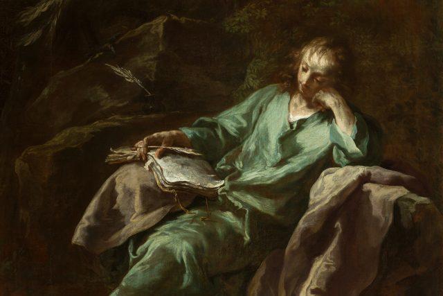 Antonín Kern: Sv. Jan na Patmu   foto: Národní galerie Praha