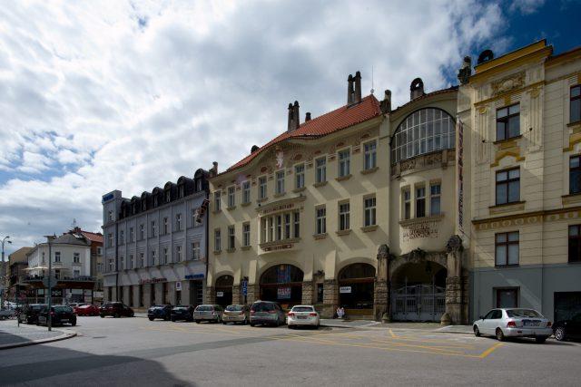 Okresní dům vHradci Králové,  architekt Jan Kotěra | foto: Jakub Potůček,  Český rozhlas