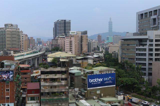 Struktura města. Taipei,  2016 | foto: Julie Hrnčířová