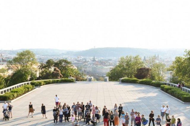 Landscape a Tanec Praha rozdýchají Plíce Žižkova