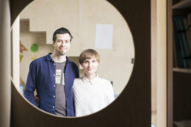 Lenka Křemenová a David Maštálka z ateliéru A1Architects