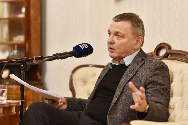 Vizitka s ministrem kultury Lubomírem Zaorálkem