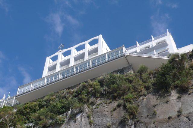Hotel Parco dei Principi, architekt Gio Ponti, Itálie