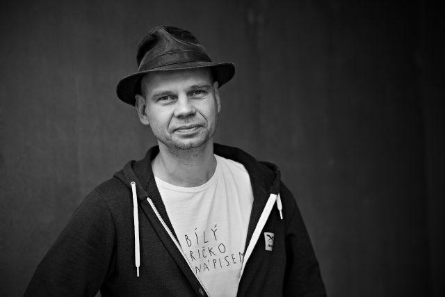 Krištof Kintera   foto: Tomáš Vodňanský,  Český rozhlas