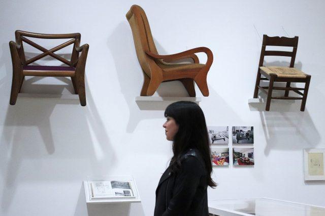Výstava vzdávající hold designérce Claře Porset v Jumex Museum v Mexico City