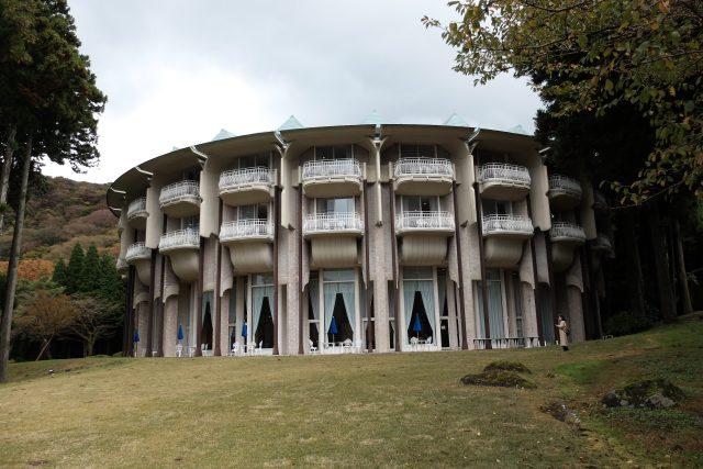 Hotel Hakone Prince, architekt Togo Murano, Japonsko
