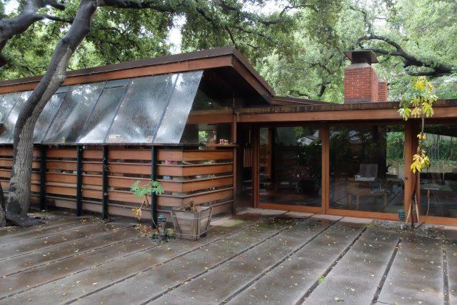 Dům Schaffer v Los Angeles, architekt John Lautner