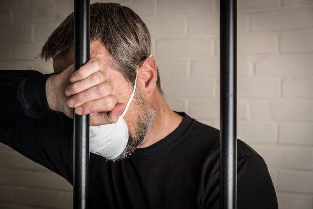 Koronavirus ve vězení (ilustrační foto)
