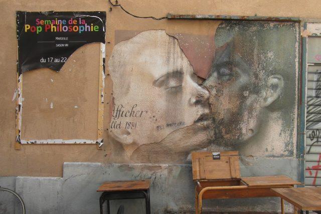 Défense d´afficher – Alberto Ruce  (2018),  freska v marseilleské čtvrti Panier | foto: Magdaléna Rejžková,  Český rozhlas