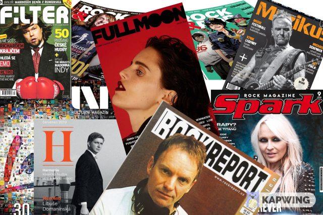 hudební časopisy