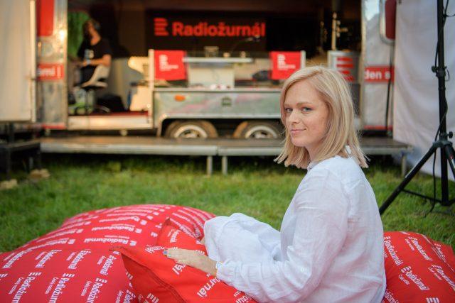 Ester Geislerová a R-stream Radiožurnálu