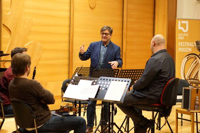 GENERACE – mezinárodní soutěž skladatelů do třiceti let,  Jaromír Javůrek   foto: Pavel Mráz